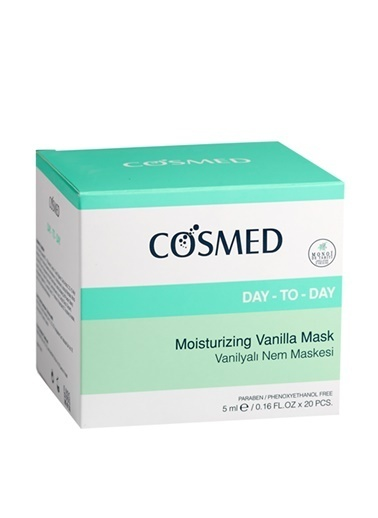 Cosmed COSMED Day-To-Day Moisturizing Vanilla Mask 5 ml x 20 Maske Renksiz